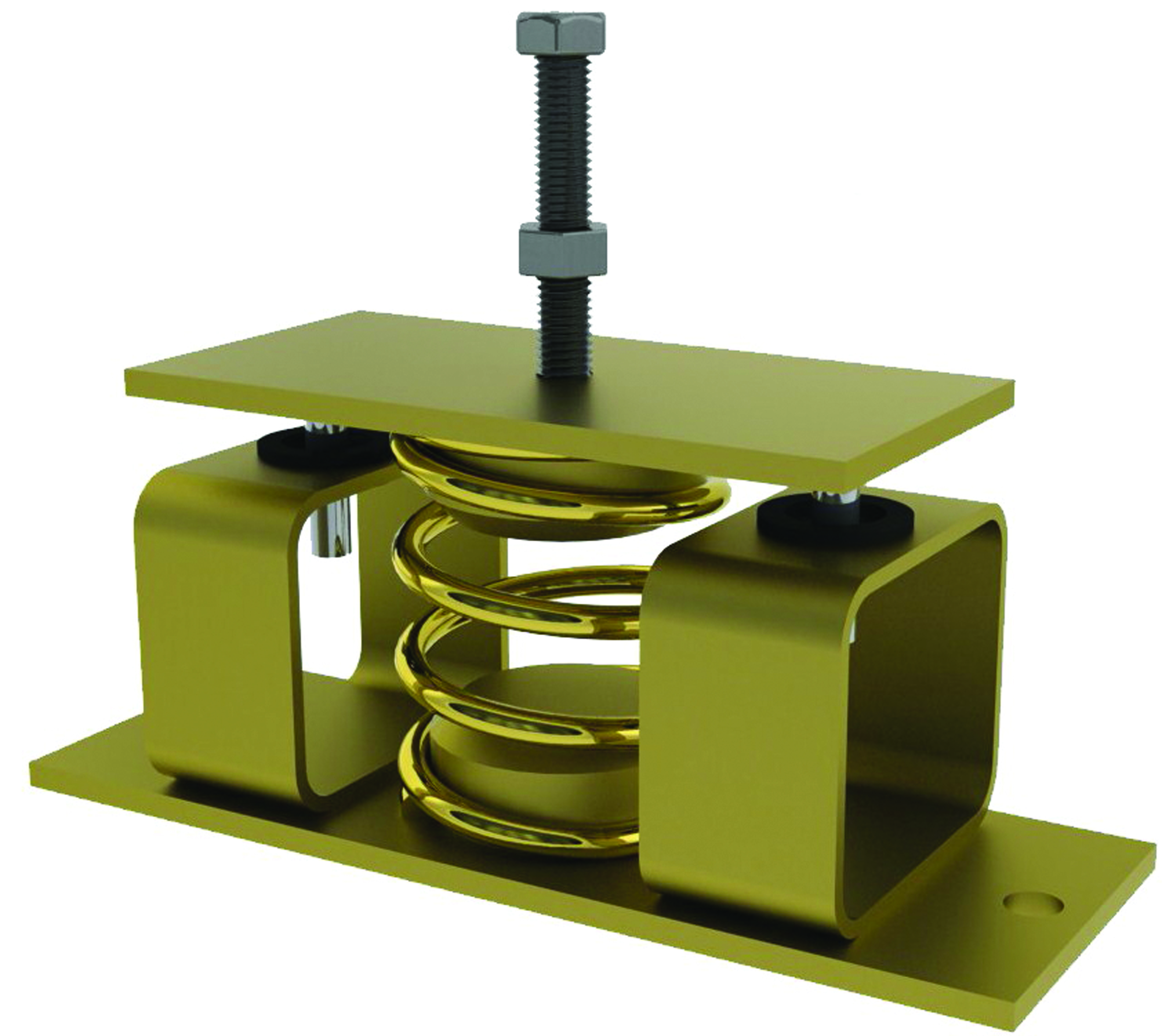 Restrained Spring Mount